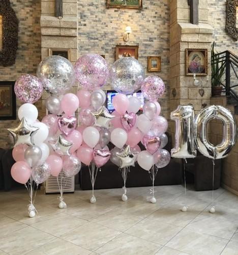 @sharstar_moscow помогут вам оформить праздник воздушными шарами
